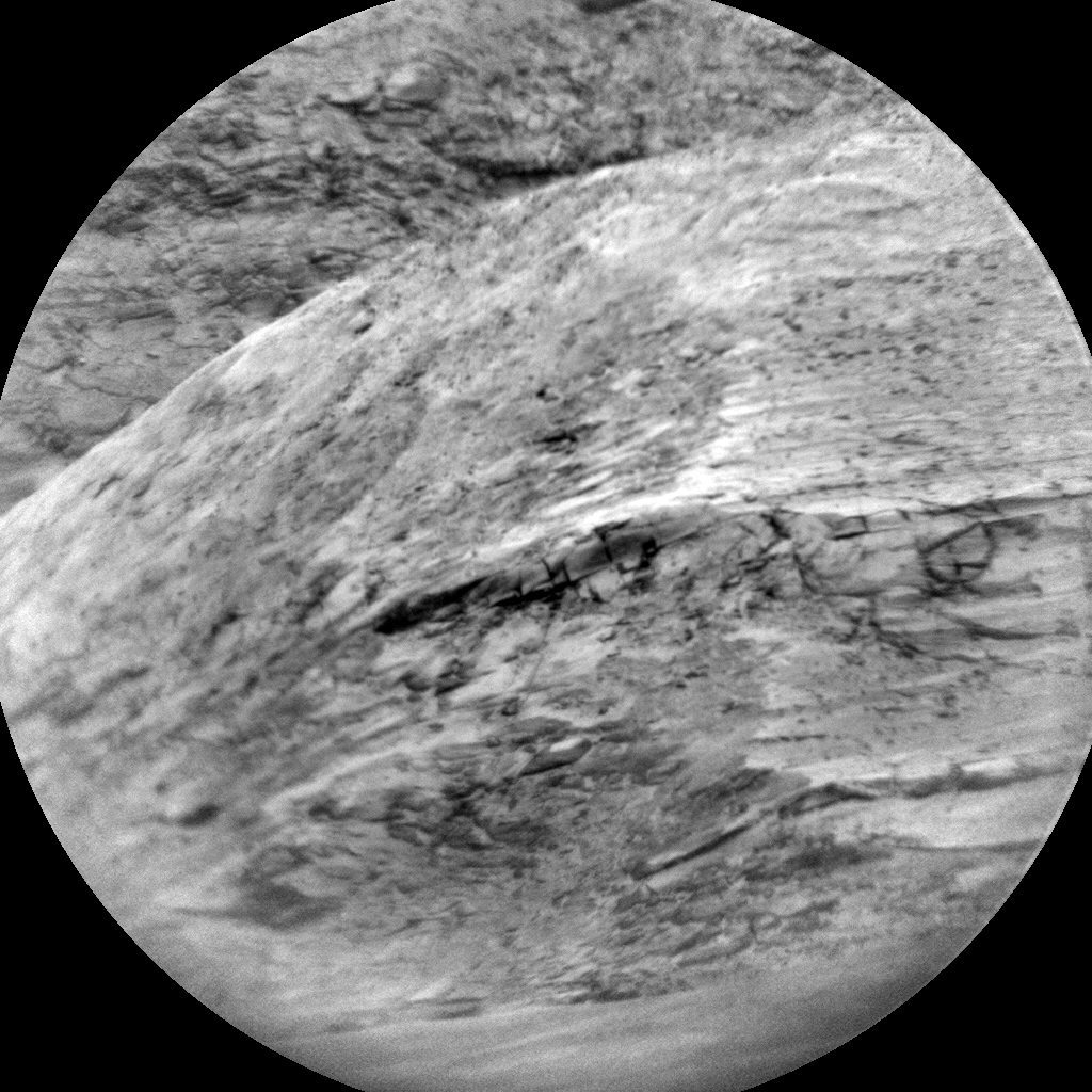 Nasa's Mars rover Curiosity acquired this image using its Chemistry & Camera (ChemCam) on Sol 1625, at drive 1140, site number 61