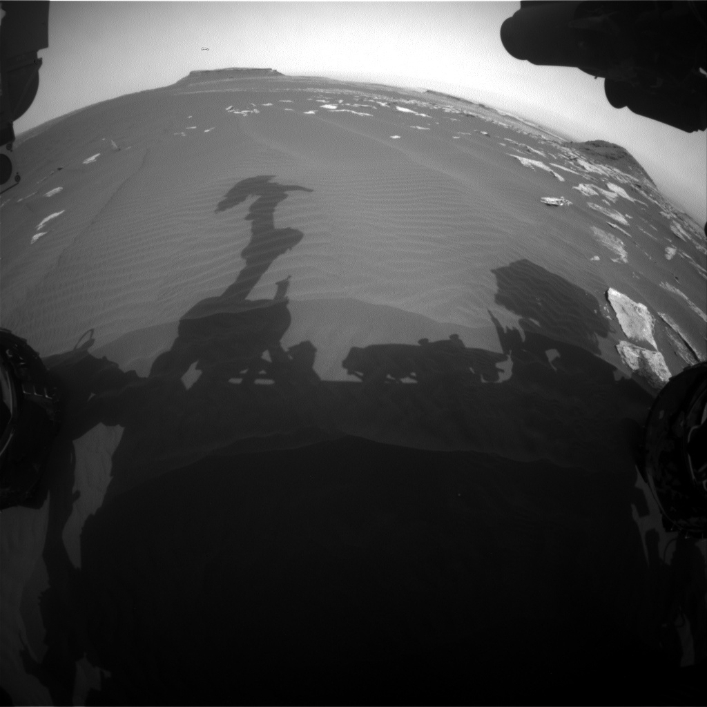 NASA's Mars rover Curiosity acquired this image using its Front Hazard Avoidance Cameras (Front Hazcams) on Sol 1626