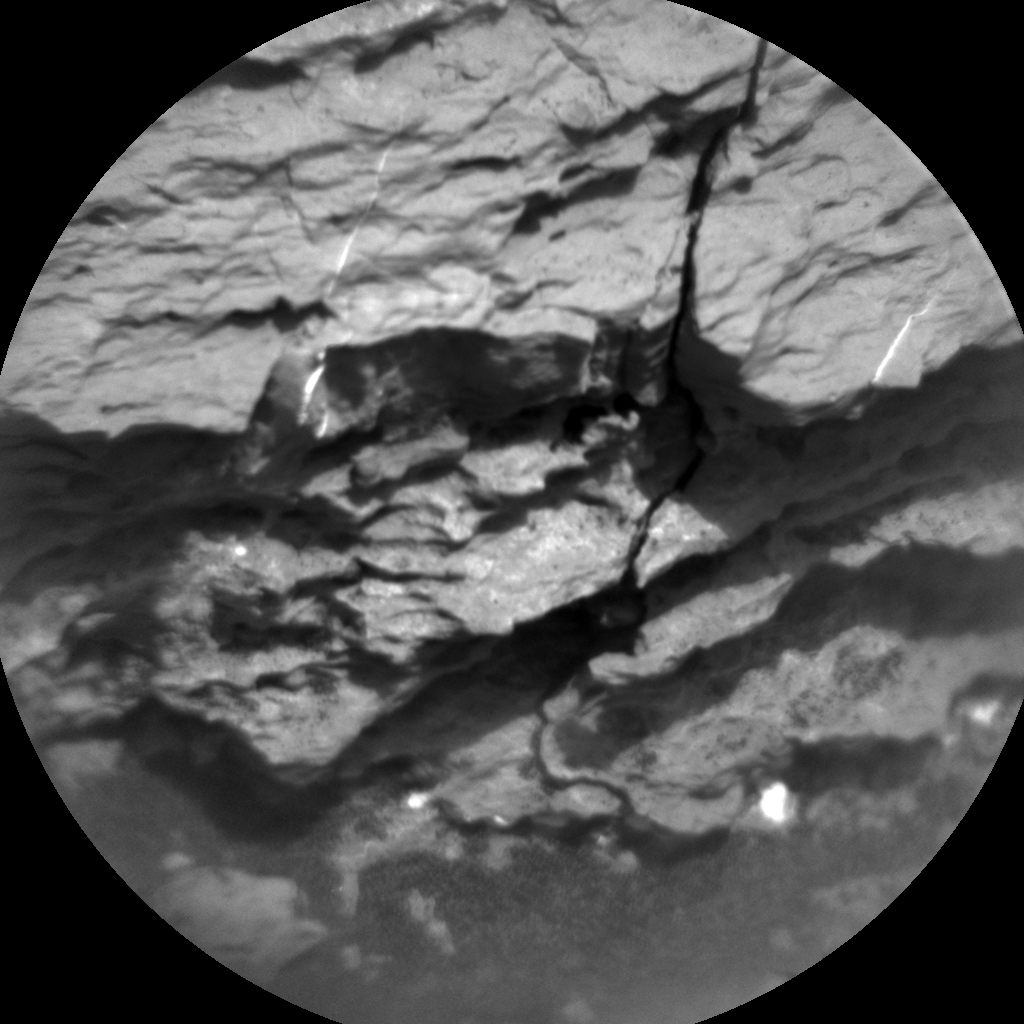 Nasa's Mars rover Curiosity acquired this image using its Chemistry & Camera (ChemCam) on Sol 1626, at drive 1140, site number 61