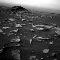 Nasa's Mars rover Curiosity acquired this image using its Left Navigation Camera on Sol 1628, at drive 1140, site number 61