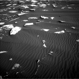 Nasa's Mars rover Curiosity acquired this image using its Left Navigation Camera on Sol 1628, at drive 1170, site number 61
