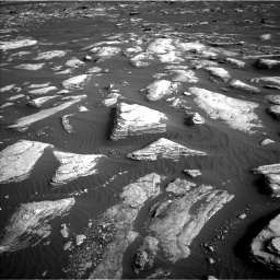 Nasa's Mars rover Curiosity acquired this image using its Left Navigation Camera on Sol 1628, at drive 1236, site number 61
