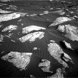 Nasa's Mars rover Curiosity acquired this image using its Left Navigation Camera on Sol 1628, at drive 1290, site number 61