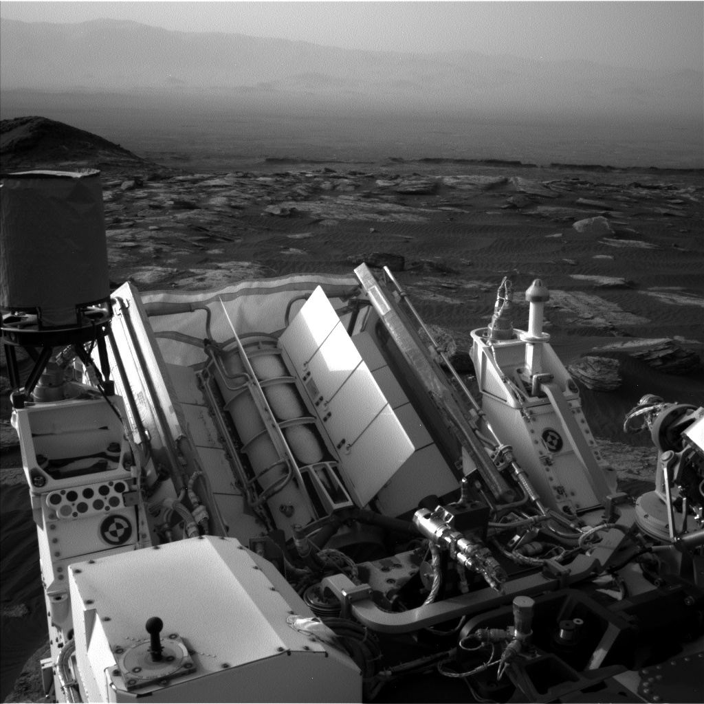 Nasa's Mars rover Curiosity acquired this image using its Left Navigation Camera on Sol 1628, at drive 1332, site number 61