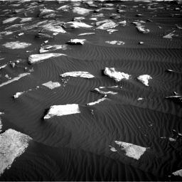 Nasa's Mars rover Curiosity acquired this image using its Right Navigation Camera on Sol 1628, at drive 1188, site number 61