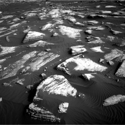 Nasa's Mars rover Curiosity acquired this image using its Right Navigation Camera on Sol 1628, at drive 1224, site number 61