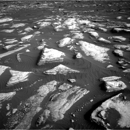 Nasa's Mars rover Curiosity acquired this image using its Right Navigation Camera on Sol 1628, at drive 1236, site number 61