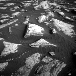 Nasa's Mars rover Curiosity acquired this image using its Right Navigation Camera on Sol 1628, at drive 1242, site number 61