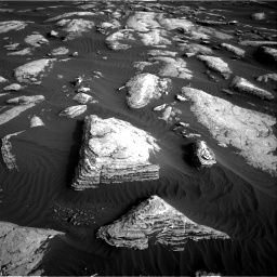 Nasa's Mars rover Curiosity acquired this image using its Right Navigation Camera on Sol 1628, at drive 1248, site number 61