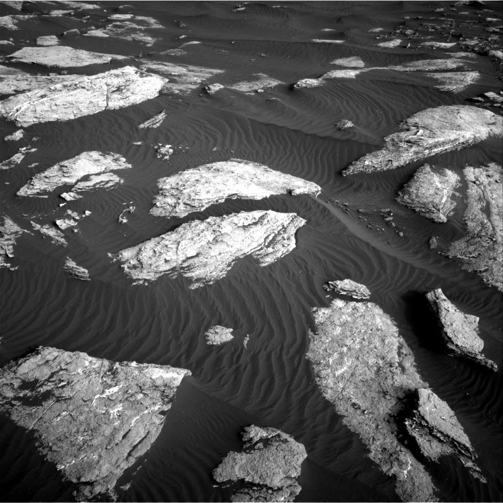 Nasa's Mars rover Curiosity acquired this image using its Right Navigation Camera on Sol 1628, at drive 1296, site number 61