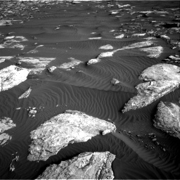 Nasa's Mars rover Curiosity acquired this image using its Right Navigation Camera on Sol 1628, at drive 1308, site number 61