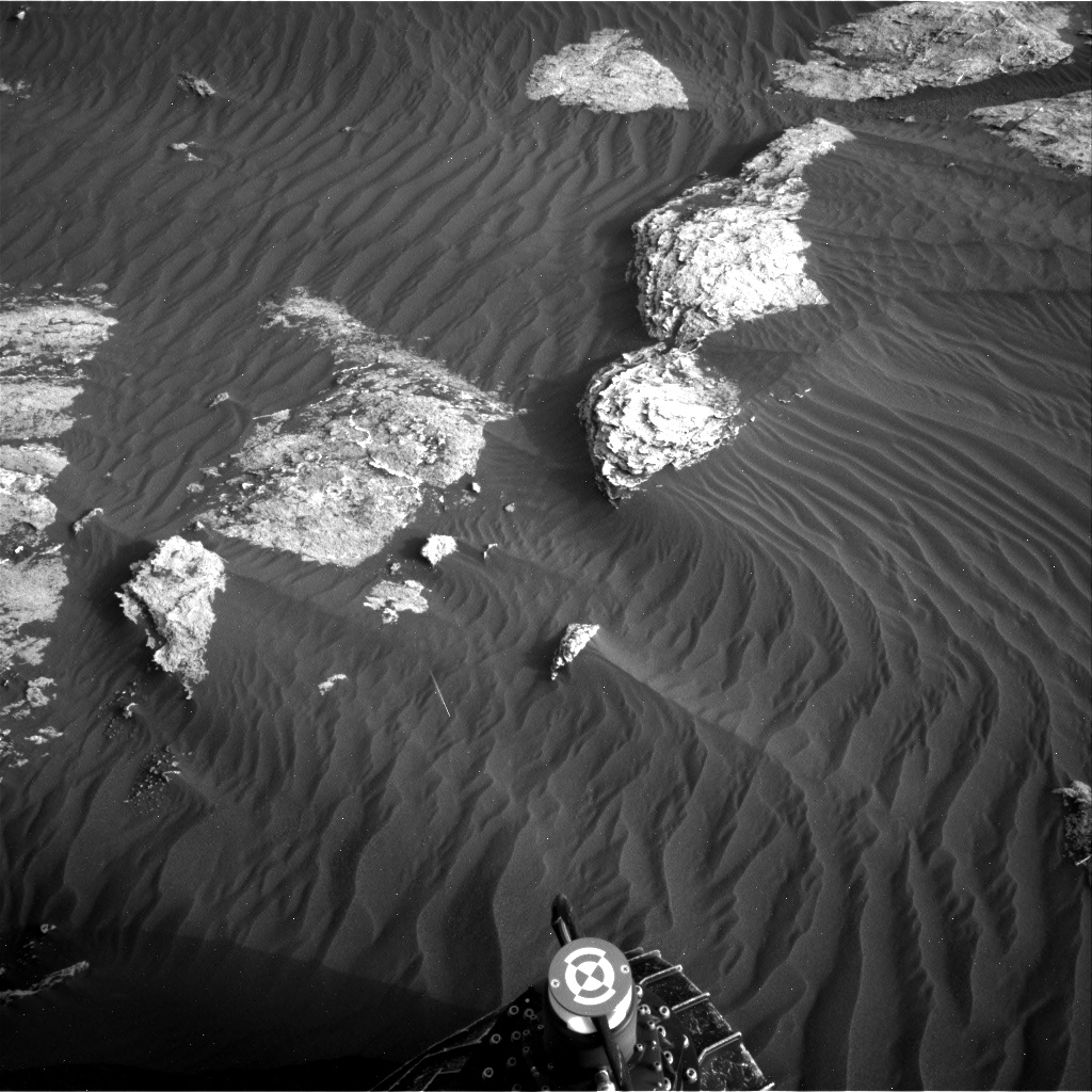 Nasa's Mars rover Curiosity acquired this image using its Right Navigation Camera on Sol 1628, at drive 1332, site number 61