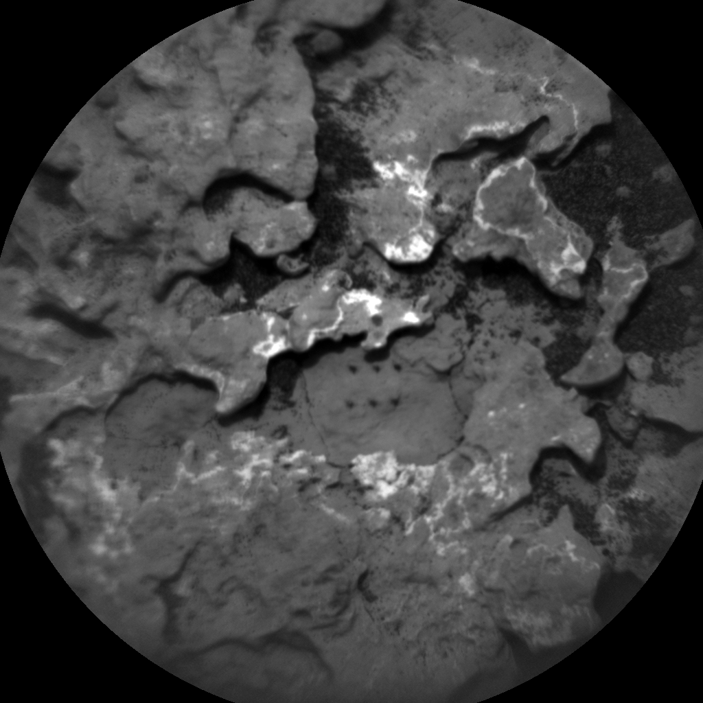 Nasa's Mars rover Curiosity acquired this image using its Chemistry & Camera (ChemCam) on Sol 1629, at drive 1332, site number 61