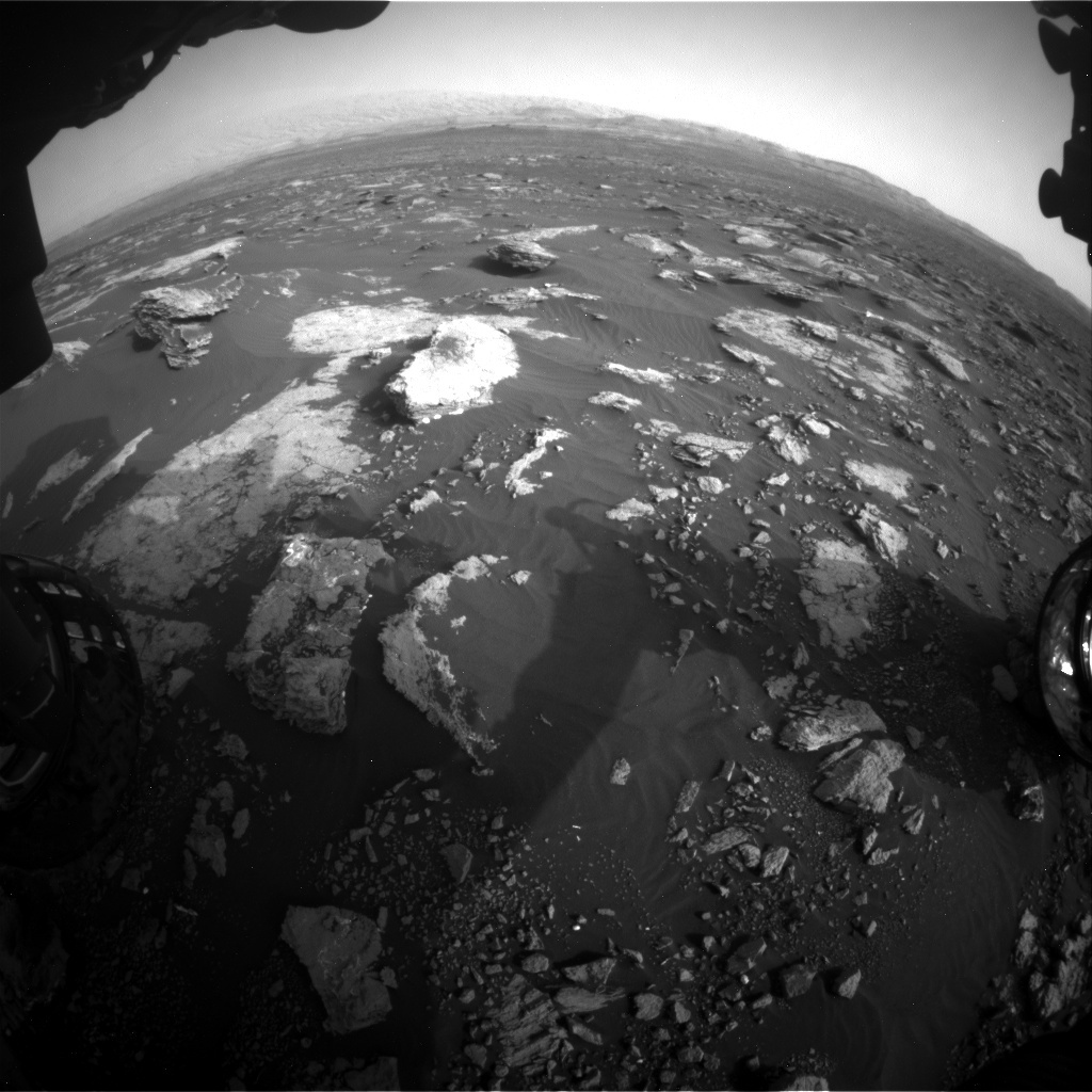 NASA's Mars rover Curiosity acquired this image using its Front Hazard Avoidance Cameras (Front Hazcams) on Sol 1630