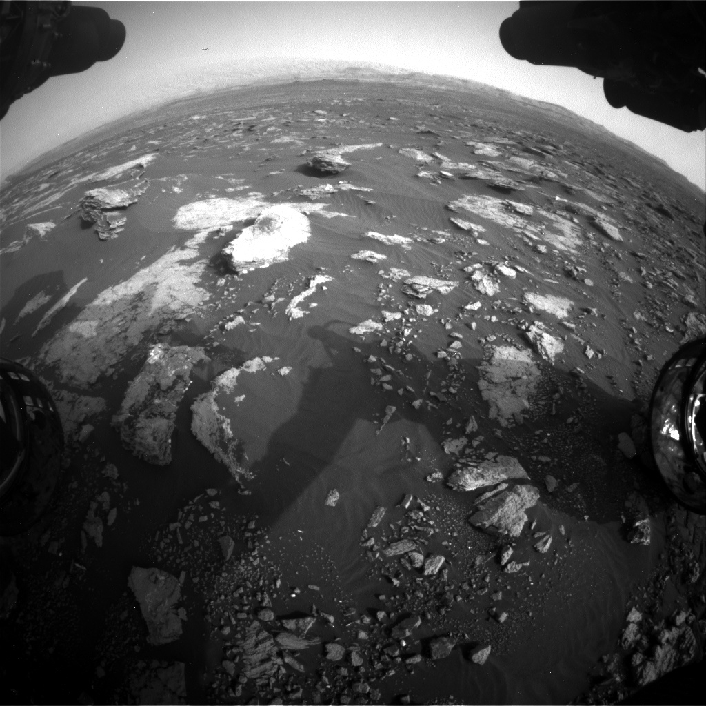 Nasa's Mars rover Curiosity acquired this image using its Front Hazard Avoidance Camera (Front Hazcam) on Sol 1630, at drive 1650, site number 61