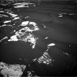 Nasa's Mars rover Curiosity acquired this image using its Left Navigation Camera on Sol 1630, at drive 1344, site number 61