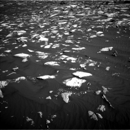 Nasa's Mars rover Curiosity acquired this image using its Left Navigation Camera on Sol 1630, at drive 1434, site number 61