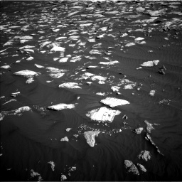 Nasa's Mars rover Curiosity acquired this image using its Left Navigation Camera on Sol 1630, at drive 1440, site number 61