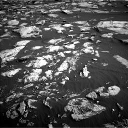 Nasa's Mars rover Curiosity acquired this image using its Left Navigation Camera on Sol 1630, at drive 1494, site number 61