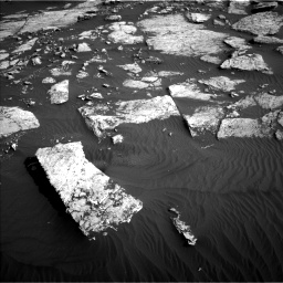 Nasa's Mars rover Curiosity acquired this image using its Left Navigation Camera on Sol 1630, at drive 1572, site number 61