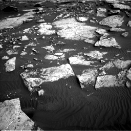 Nasa's Mars rover Curiosity acquired this image using its Left Navigation Camera on Sol 1630, at drive 1578, site number 61
