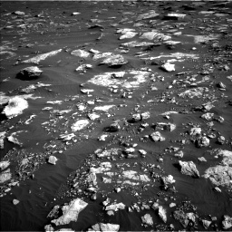 Nasa's Mars rover Curiosity acquired this image using its Left Navigation Camera on Sol 1630, at drive 1620, site number 61