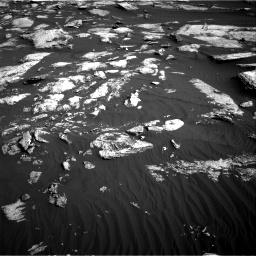 Nasa's Mars rover Curiosity acquired this image using its Right Navigation Camera on Sol 1630, at drive 1488, site number 61
