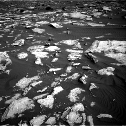 Nasa's Mars rover Curiosity acquired this image using its Right Navigation Camera on Sol 1630, at drive 1512, site number 61