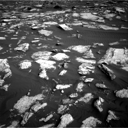 Nasa's Mars rover Curiosity acquired this image using its Right Navigation Camera on Sol 1630, at drive 1518, site number 61