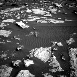 Nasa's Mars rover Curiosity acquired this image using its Right Navigation Camera on Sol 1630, at drive 1548, site number 61