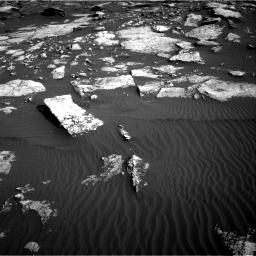 Nasa's Mars rover Curiosity acquired this image using its Right Navigation Camera on Sol 1630, at drive 1560, site number 61