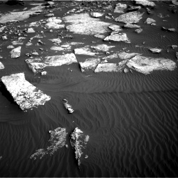 Nasa's Mars rover Curiosity acquired this image using its Right Navigation Camera on Sol 1630, at drive 1566, site number 61
