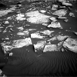 Nasa's Mars rover Curiosity acquired this image using its Right Navigation Camera on Sol 1630, at drive 1578, site number 61