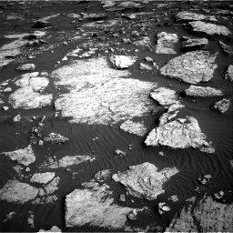 Nasa's Mars rover Curiosity acquired this image using its Right Navigation Camera on Sol 1630, at drive 1590, site number 61