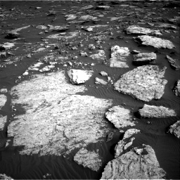 Nasa's Mars rover Curiosity acquired this image using its Right Navigation Camera on Sol 1630, at drive 1596, site number 61