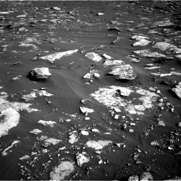 Nasa's Mars rover Curiosity acquired this image using its Right Navigation Camera on Sol 1630, at drive 1638, site number 61
