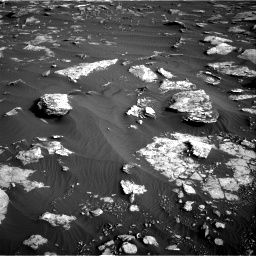 Nasa's Mars rover Curiosity acquired this image using its Right Navigation Camera on Sol 1630, at drive 1644, site number 61