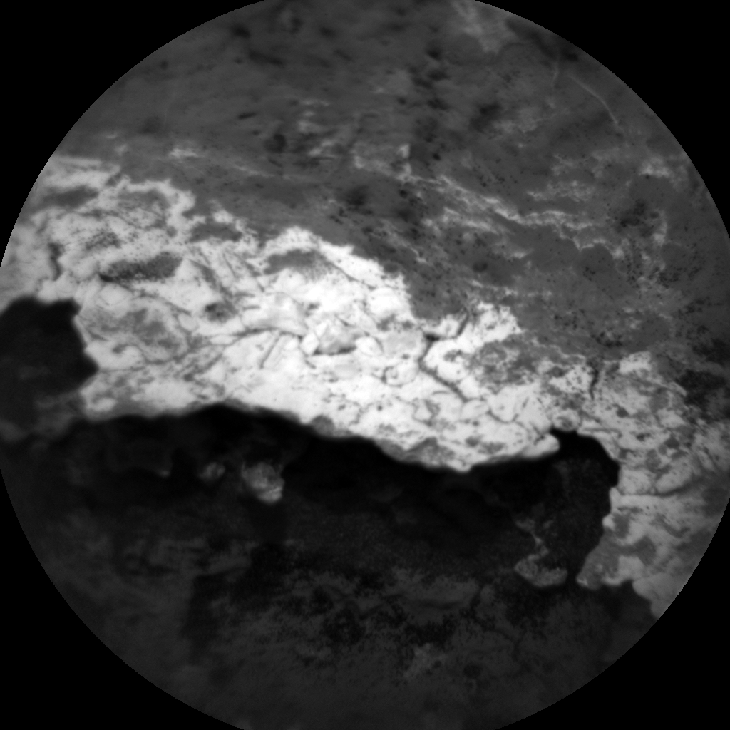 Nasa's Mars rover Curiosity acquired this image using its Chemistry & Camera (ChemCam) on Sol 1630, at drive 1332, site number 61