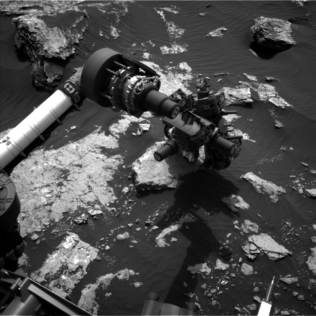 Nasa's Mars rover Curiosity acquired this image using its Left Navigation Camera on Sol 1632, at drive 1650, site number 61