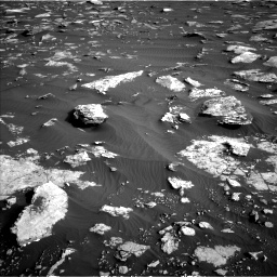 Nasa's Mars rover Curiosity acquired this image using its Left Navigation Camera on Sol 1632, at drive 1656, site number 61