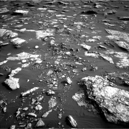 Nasa's Mars rover Curiosity acquired this image using its Left Navigation Camera on Sol 1632, at drive 1686, site number 61
