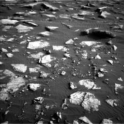 Nasa's Mars rover Curiosity acquired this image using its Left Navigation Camera on Sol 1632, at drive 1734, site number 61