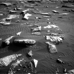 Nasa's Mars rover Curiosity acquired this image using its Left Navigation Camera on Sol 1632, at drive 1758, site number 61