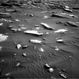 Nasa's Mars rover Curiosity acquired this image using its Left Navigation Camera on Sol 1632, at drive 1806, site number 61