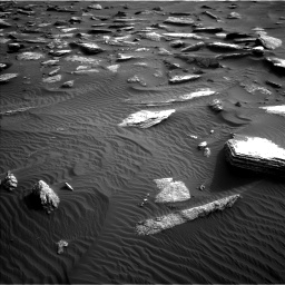 Nasa's Mars rover Curiosity acquired this image using its Left Navigation Camera on Sol 1632, at drive 1842, site number 61