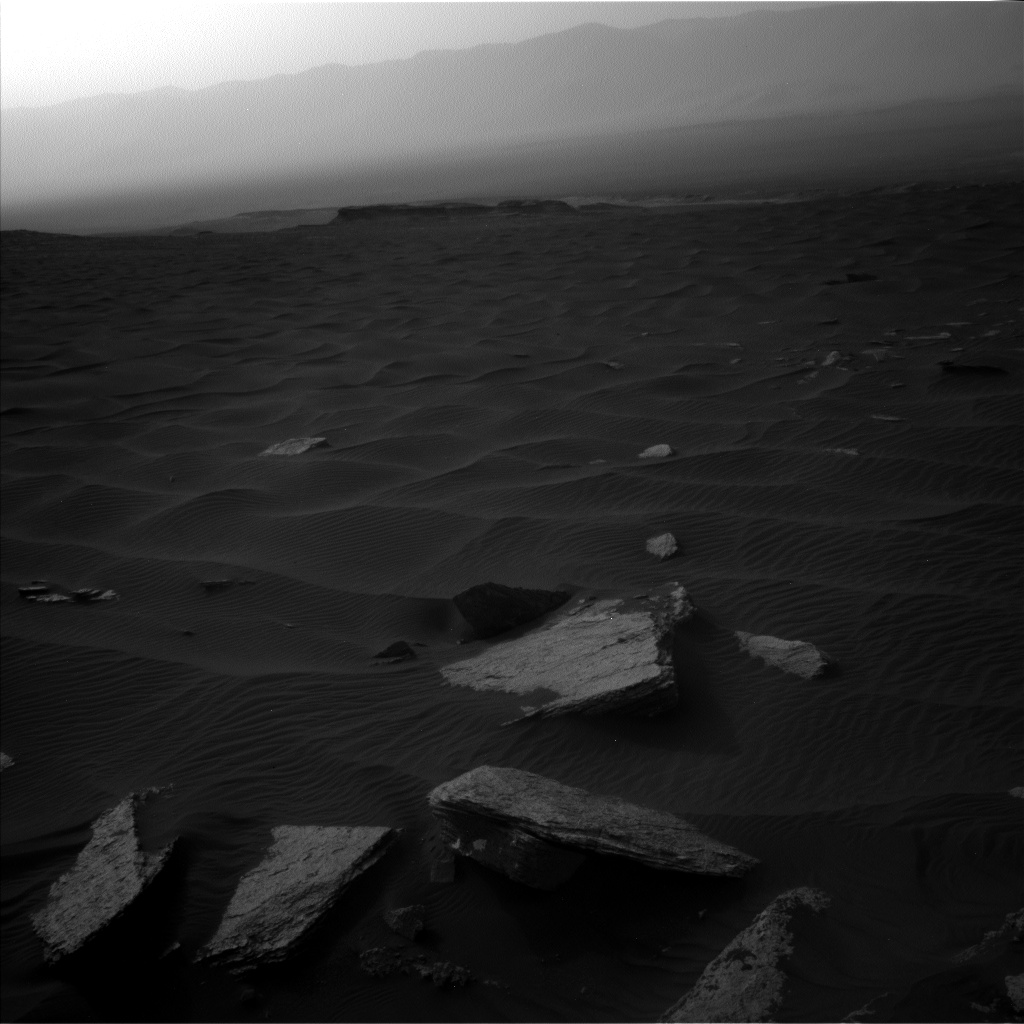 Nasa's Mars rover Curiosity acquired this image using its Left Navigation Camera on Sol 1632, at drive 1908, site number 61