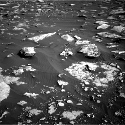 Nasa's Mars rover Curiosity acquired this image using its Right Navigation Camera on Sol 1632, at drive 1656, site number 61
