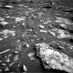 Nasa's Mars rover Curiosity acquired this image using its Right Navigation Camera on Sol 1632, at drive 1686, site number 61