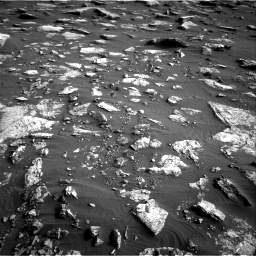 Nasa's Mars rover Curiosity acquired this image using its Right Navigation Camera on Sol 1632, at drive 1704, site number 61