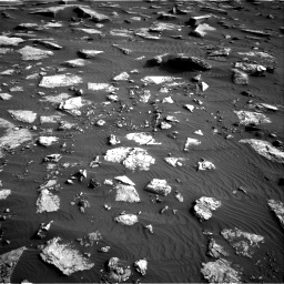 Nasa's Mars rover Curiosity acquired this image using its Right Navigation Camera on Sol 1632, at drive 1722, site number 61